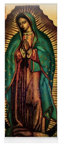 The Virgin Of Guadalupe  Yoga Mat