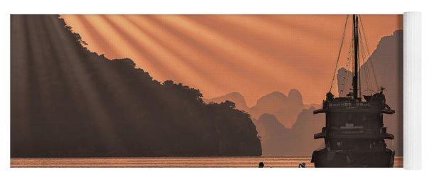The Voyage Ha Long Bay Vietnam  Yoga Mat