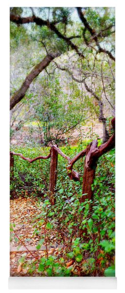 The Crooked Rail - Descanso Gardens Yoga Mat