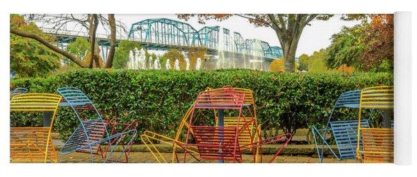 The Walnut St Bridge From The Park # 2 Yoga Mat
