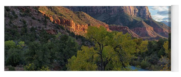 The Watchman And Virgin River Yoga Mat