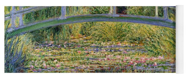 The Waterlily Pond With The Japanese Bridge Yoga Mat