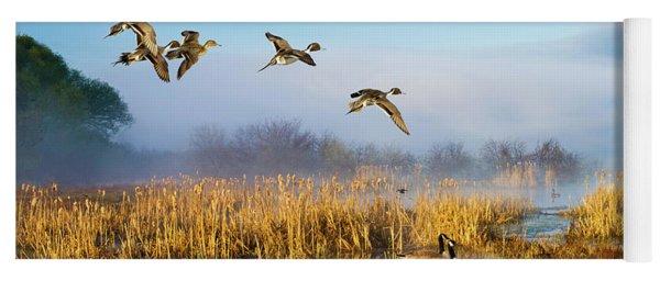 The Wetlands Crop Yoga Mat