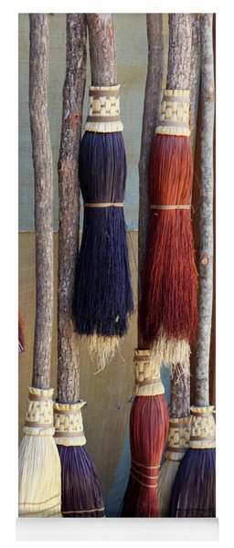 The Witches Brooms Yoga Mat