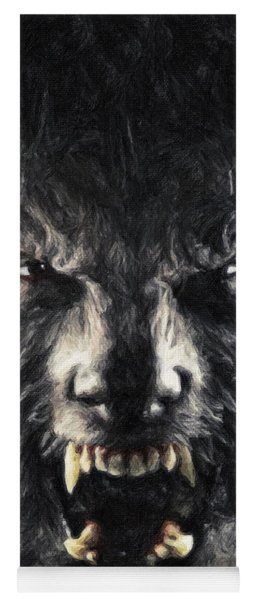 The Wolfman Yoga Mat