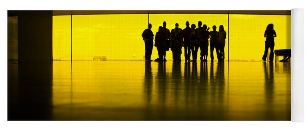 The Yellow Room Guthrie Theater Minneapolis  Yoga Mat