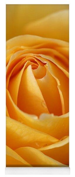 The Yellow Rose Yoga Mat