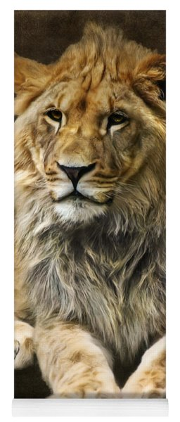 The Young Lion Yoga Mat