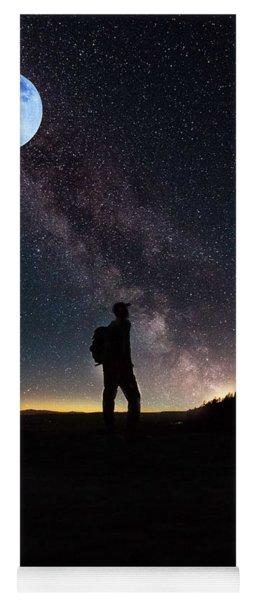 The Young Wanderer By Adam Asar Yoga Mat