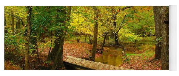 There Is Peace - Allaire State Park Yoga Mat