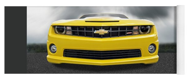 There's A Storm Coming - Camaro Ss Yoga Mat