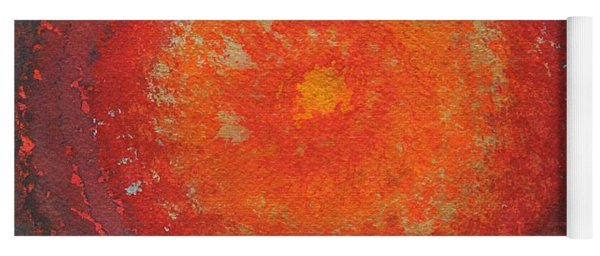 Third Eye Original Painting Yoga Mat