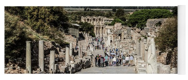 This Is Ephesus Yoga Mat