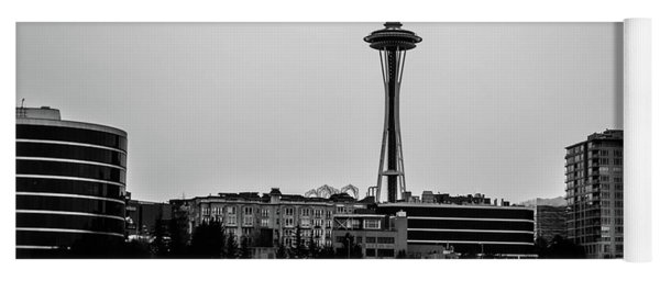 This Is Seattle Black And White Yoga Mat