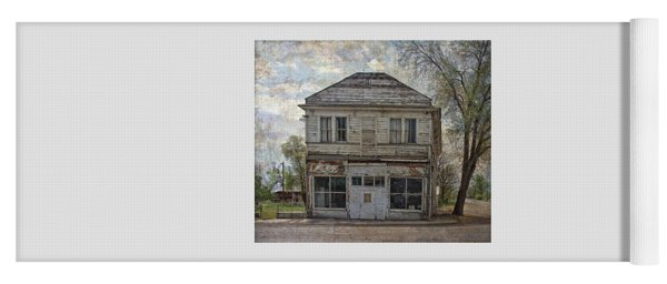 Yoga Mat featuring the photograph This Old Store by Thom Zehrfeld
