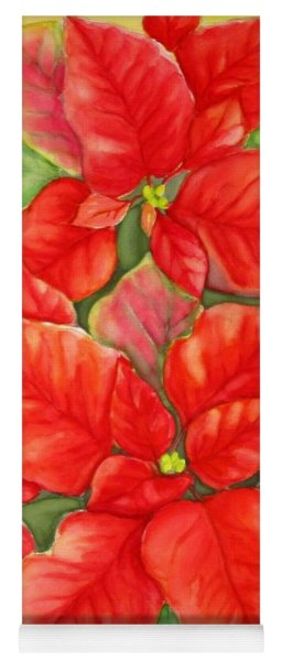 This Year's Poinsettia 1 Yoga Mat