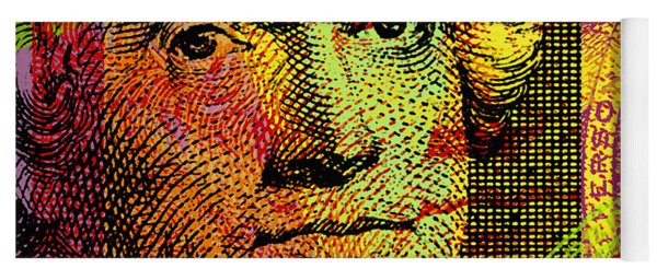 Thomas Jefferson - $2 Bill Yoga Mat
