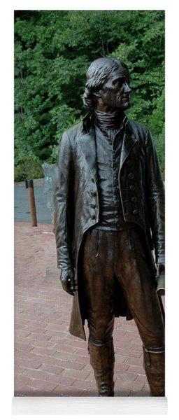 Thomas Jefferson At Monticello Yoga Mat