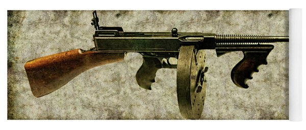 Thompson Submachine Gun 1921 Yoga Mat