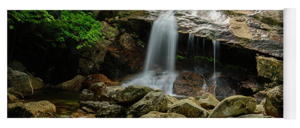 Thompson Waterfall, New Hampshire Yoga Mat