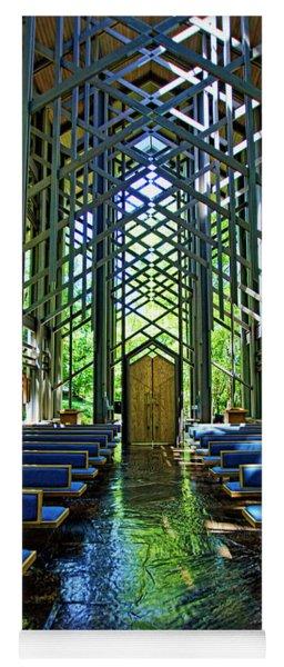 Thorncrown Chapel Serenity Yoga Mat
