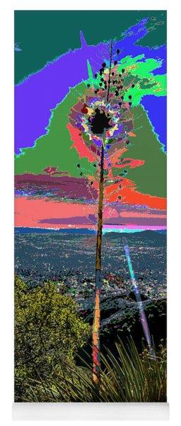 Thorny Yucca And Sun Kisses Yoga Mat