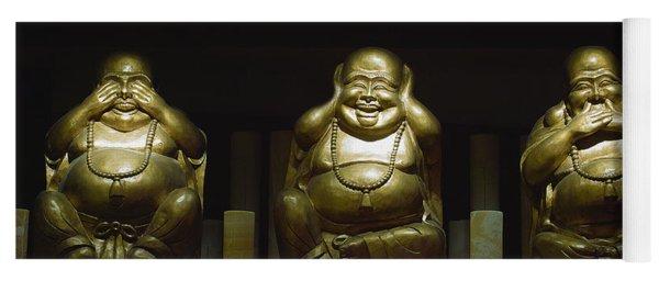 Three Buddhas Yoga Mat