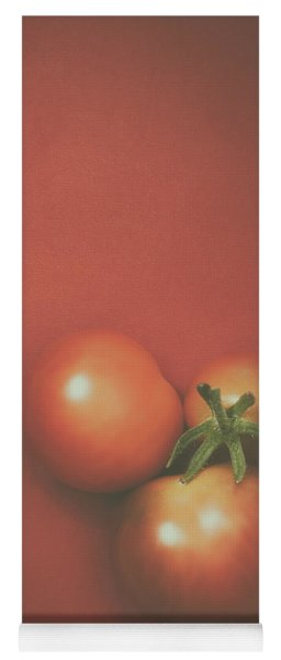Three Cherry Tomatoes Yoga Mat