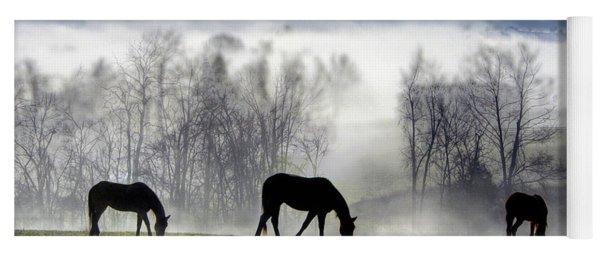 Three Horse Morning Yoga Mat