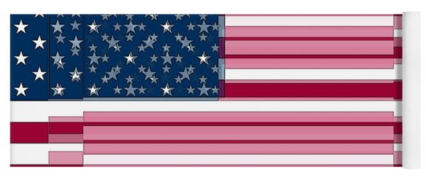 Three Layered Flag Yoga Mat