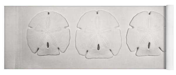 Three Sand Dollars Yoga Mat