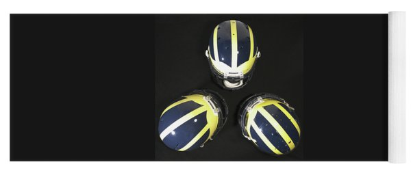 Three Striped Wolverine Helmets Yoga Mat