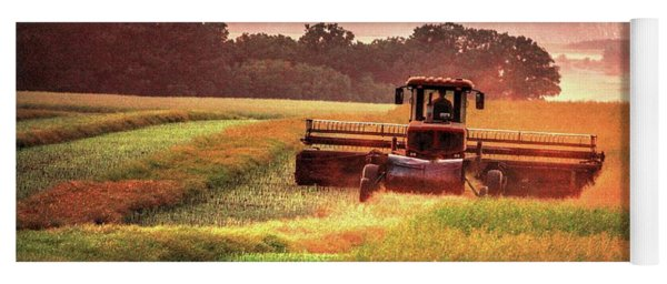 Swathing On The Hill Yoga Mat