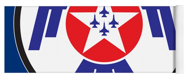 Thunderbirds Logo Yoga Mat