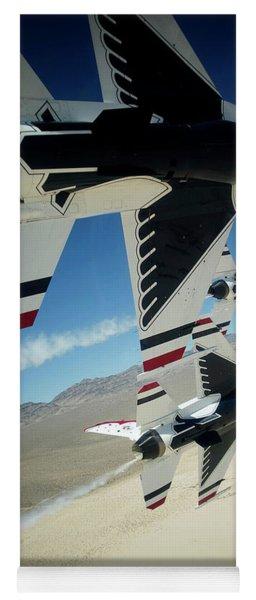 Thunderbirds Photo Yoga Mat