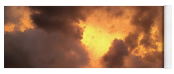 Thunderous Sunset Yoga Mat