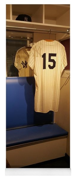 New York Yankee Captian Thurman Munson 15 Locker Yoga Mat