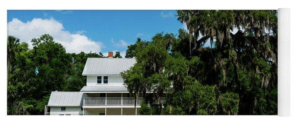 Thursby House Blue Springs State Park Florida Yoga Mat