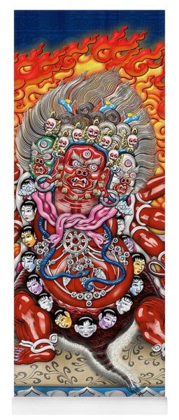 Tibetan Thangka Remake - Hayagriva Yoga Mat