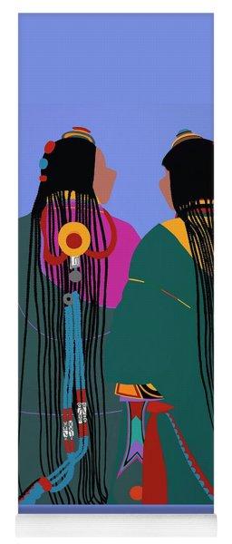 Tibetan Women Yoga Mat