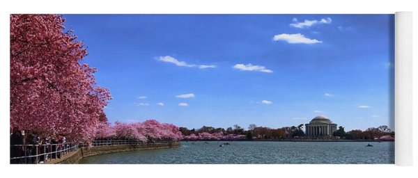 Tidal Basin Cherry Blossoms Yoga Mat