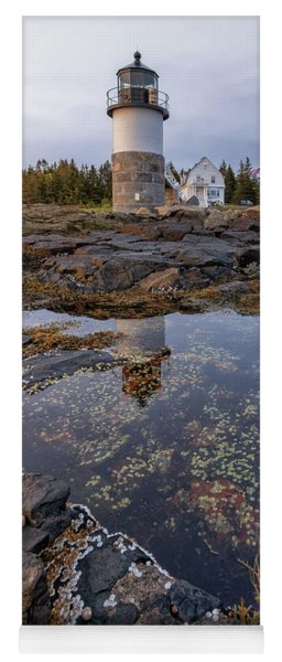 Tide Pools At Marshall Point Lighthouse Yoga Mat