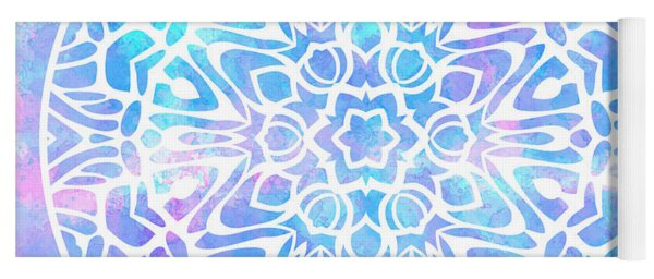 Tie Dye Mandala 2 Yoga Mat