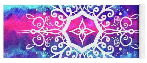 Tie Dye Mandala  Yoga Mat