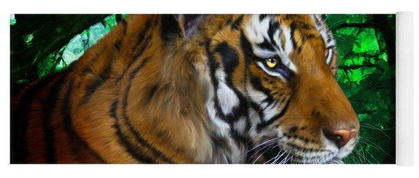 Tiger Contemplation Yoga Mat