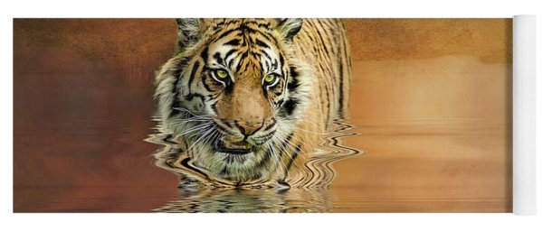 Tiger Reflections Yoga Mat