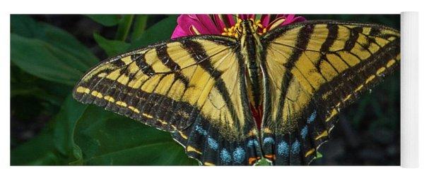Tiger Swallowtail Yoga Mat