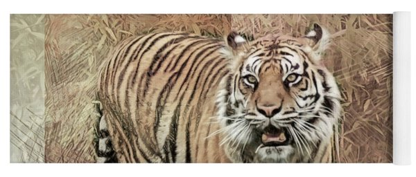 Tiger Tapestry Yoga Mat
