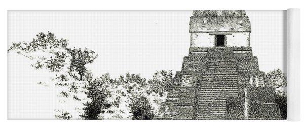 Tikal Temple I Yoga Mat