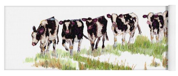 Till The Cows... Yoga Mat